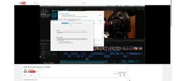 Final Cut User Group Live Reviews Worx4 X